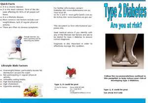 Health Type 2 Diabetes Pamphlet
