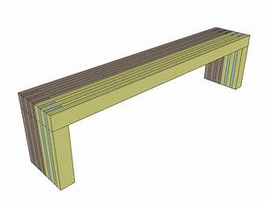 easy wooden garden bench plans | Quick Woodworking Projects