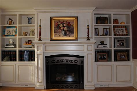 gas fireplace with built in cabinets 1000 ideas about built ins around fireplace on pinterest