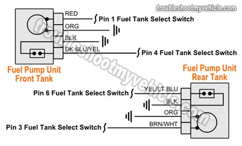 Part Fuel Pump Circuit Tests Ford