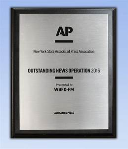 AP awards WBFO Outstanding News Operation in Radio | WBFO