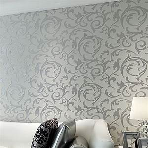 Victorian Damask Luxury Embossed Wallpapers Rolls Gold ...