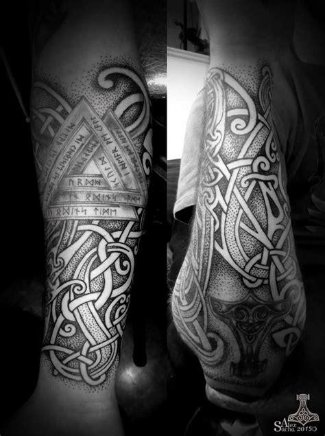 pin  thoryn tillman  viking tattoos tattoos viking