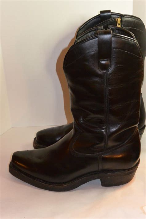 classic leather motorcycle boots vintage leather motorcycle boots classic vintage apparel