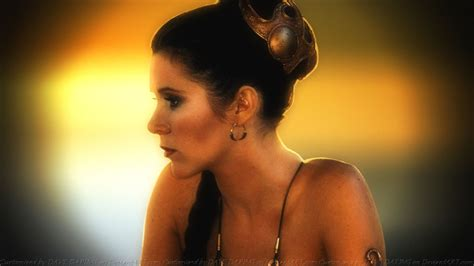 Carrie Fisher Slave Girl Princess Xi By Dave Daring On