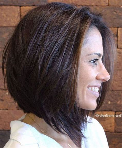 elegant short haircuts for thick hair