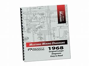 Mustang Wire Diagram Book Large 1968