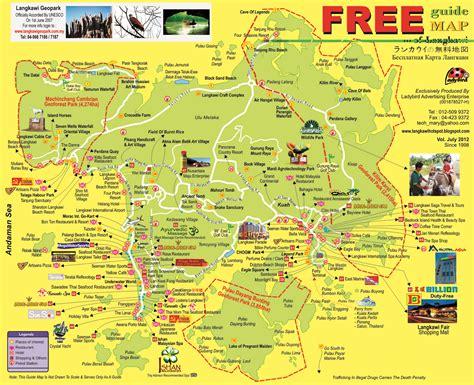 samavest tours travel sdn bhd map  langkawi