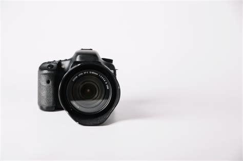 professional camera  white background photo