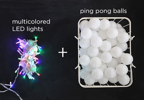 how to make ping pong cafe lights 187 curbly diy