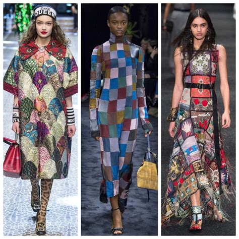 Fall Trend Playful Patchwork Real Life Style