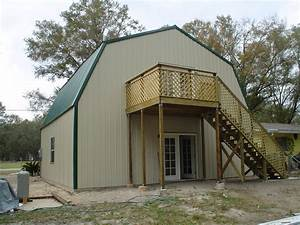steel frame gambrel type homes starting from 19950 hq With 2 story metal building kit