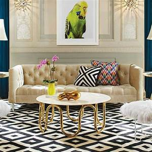 idee deco salle a manger salon pour tous les gouts With tapis design avec table pour manger dans le canapé