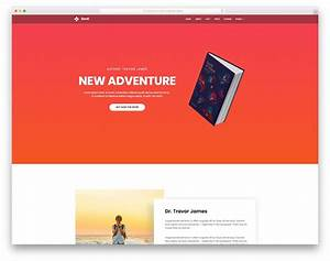 Book - Free Book Landing Page Website Template