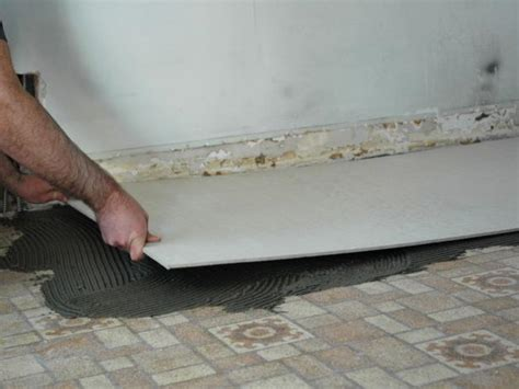 tile flooring backer board how to install a tile floor in a kitchen how tos diy