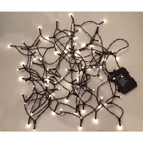 battery operated string lights home depot novolink 34 ft 100 light led warm white battery operated