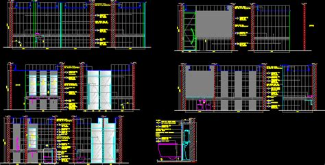 bathroom toilet details  autocad  cad