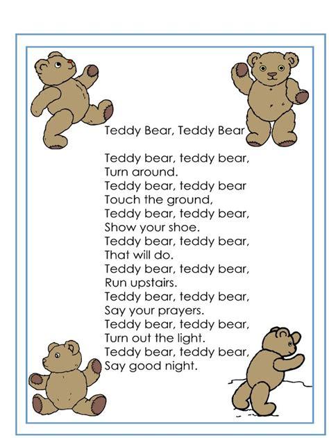 teddy bear songs preschool 129 best teddy preschool theme images on 336