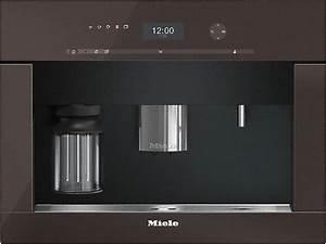Miele Einbau Kaffeevollautomat : miele cva 6401 hvbr havannabraun einbau kaffeevollautomat ~ Michelbontemps.com Haus und Dekorationen