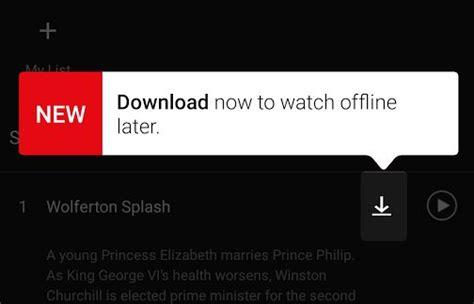 Surprise ! Netflix se dote ENFIN d'un mode hors-ligne ...