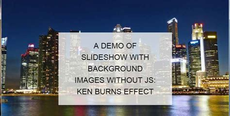 Css Div Background by A Css Background Image As Slideshow Solution With 2
