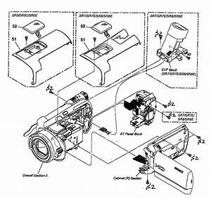 Cabinet Parts 2 Diagram  U0026 Parts List For Model Hdrsr5 Sony