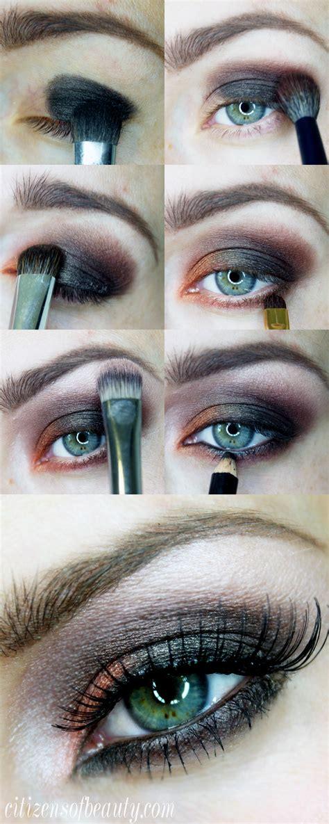 orange  black halloween eyeshadow design citizens