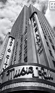 Radio City Music Hall Facade - Fine Art Photo - Andrew ...