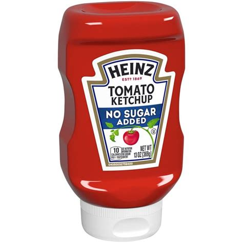 Heinz Reduced Sugar Tomato Ketchup | Hy-Vee Aisles Online ...