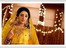 Sanam Chauhdry Mayoon Mehndi Pictures NewFashionElle