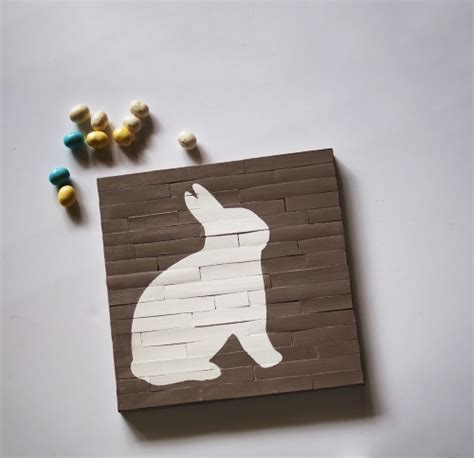 faux pallet easter canvas diy