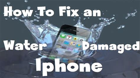 how to fix an iphone screen 100 way to fix a water damaged iphone 4s 5 or any device