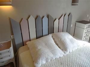 Faire Une Tête De Lit En Bois : construire une tete de lit en bois diy tte de lit facile ~ Melissatoandfro.com Idées de Décoration