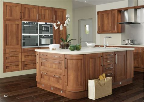 Modern Walnut Kitchen Cabinets Inspirations
