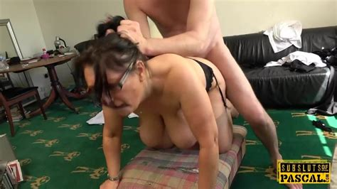 Busty British MILF Roughly Fucked Doggystyle Free Porn