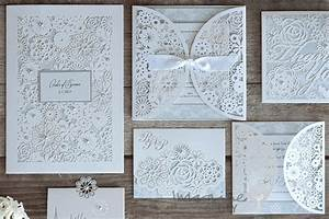 how to make beautiful diy rita laser cut wedding With wedding invitation wallets diy