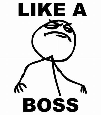 Boss Meme Likeaboss Sticker Dealing Emotions Episode