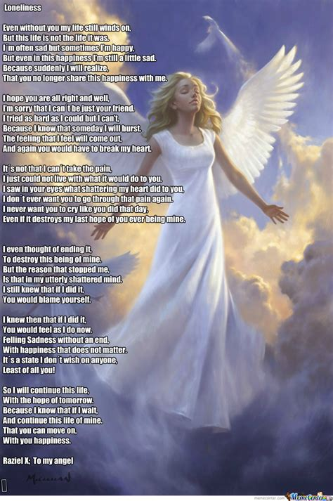 Angel Meme - angel meme to share your sadness and klicking next for fun by razielx meme center