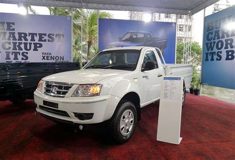 Gambar Mobil Tata Xenon by Tata Xenon Flatbed Indonesia Autonetmagz