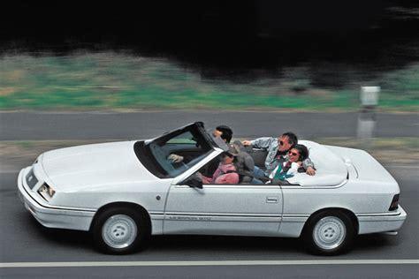 chrysler le baron cabrio chrysler lebaron cabriolet bilder autobild de