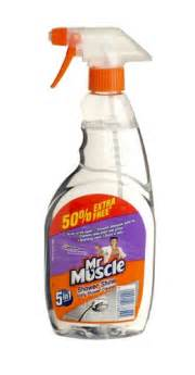 mr muscle shower shine cleaner 750ml
