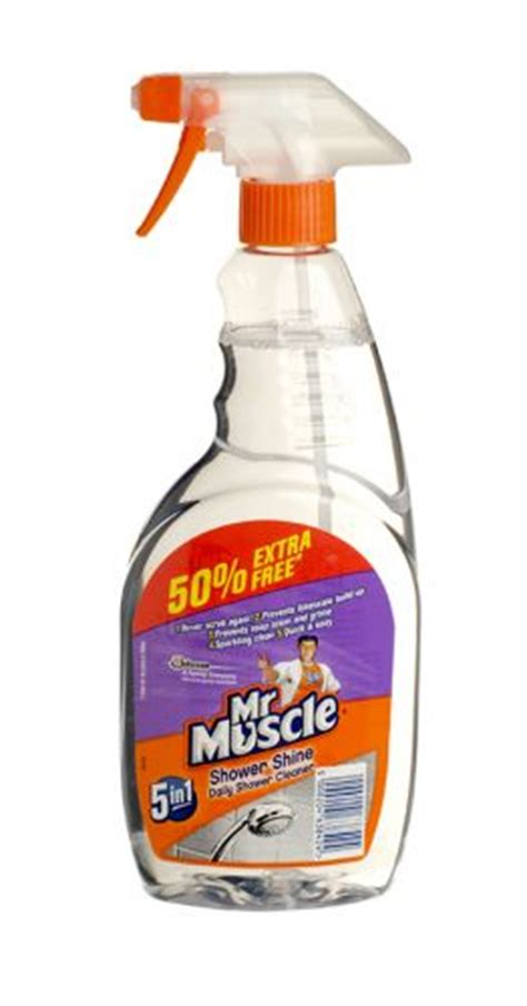 Mr Clean Bathroom Cleaner 7 Day Shine by Mr Shower Shine Cleaner 750ml