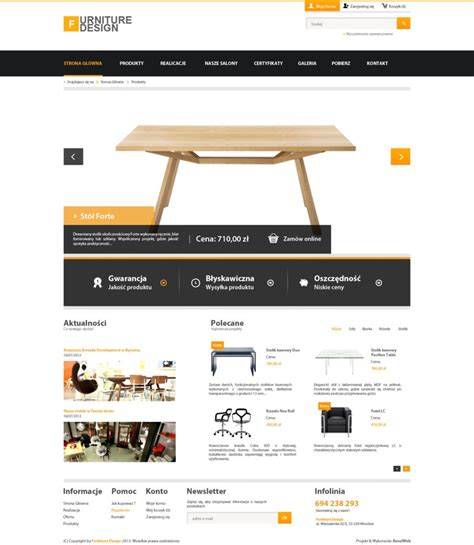 easy web design simple corporate webdesign furniture v1 by kqubekq on