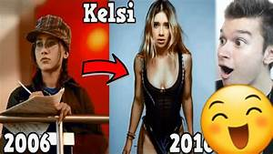 High School Musical Then And Now 2017 - YouTube