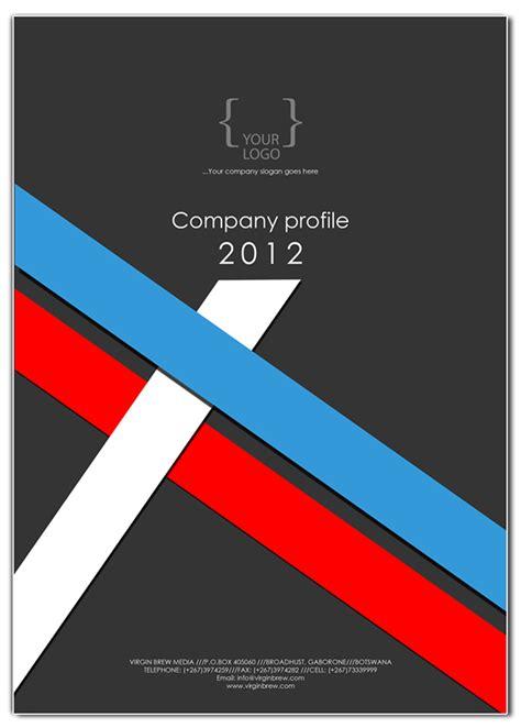 Company Profile Cover Design Template Free Download