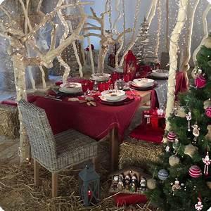 Table De Noel Traditionnelle : tables de no l ~ Melissatoandfro.com Idées de Décoration
