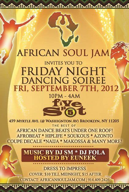 African Soul Boat Party by Ra African Soul Jam Dance Party A Brooklyn Affair At