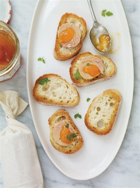 recettes canap駸 faciles canapés au foie gras et aux abricots recettes ricardo recette