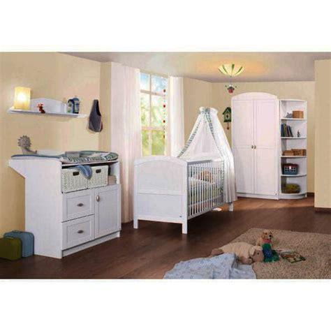 chambre bebe bois blanc chambre b 233 b 233 en bois laqu 233 blanc