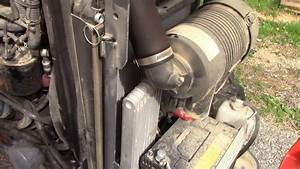 How To Remove  Repair  And Replace The Radiator On Kubota